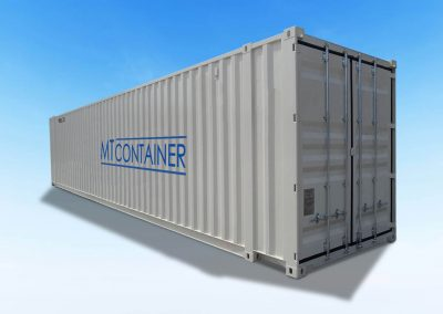 40-Fuß-Container-Seecontainer-Dry Van-Lagercontainer